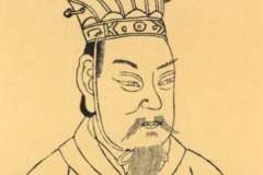 Cao Cao in the Sancai Tuhui by Wang Qi (Wang c. 1607)