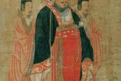Cao Pi, the Emperor of Wei (Tang dynasty painting by Yan Liben)(Yan c. 650)