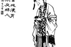 Diaochan from a 19th century Qing Dynasty edition of the Romance of the Three Kingdoms, Zengxiang Quantu Sanguo Yanyi (ZT 2011)1